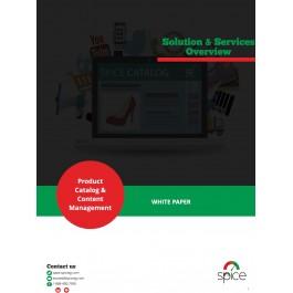 White Paper: Product Catalog & Content Management